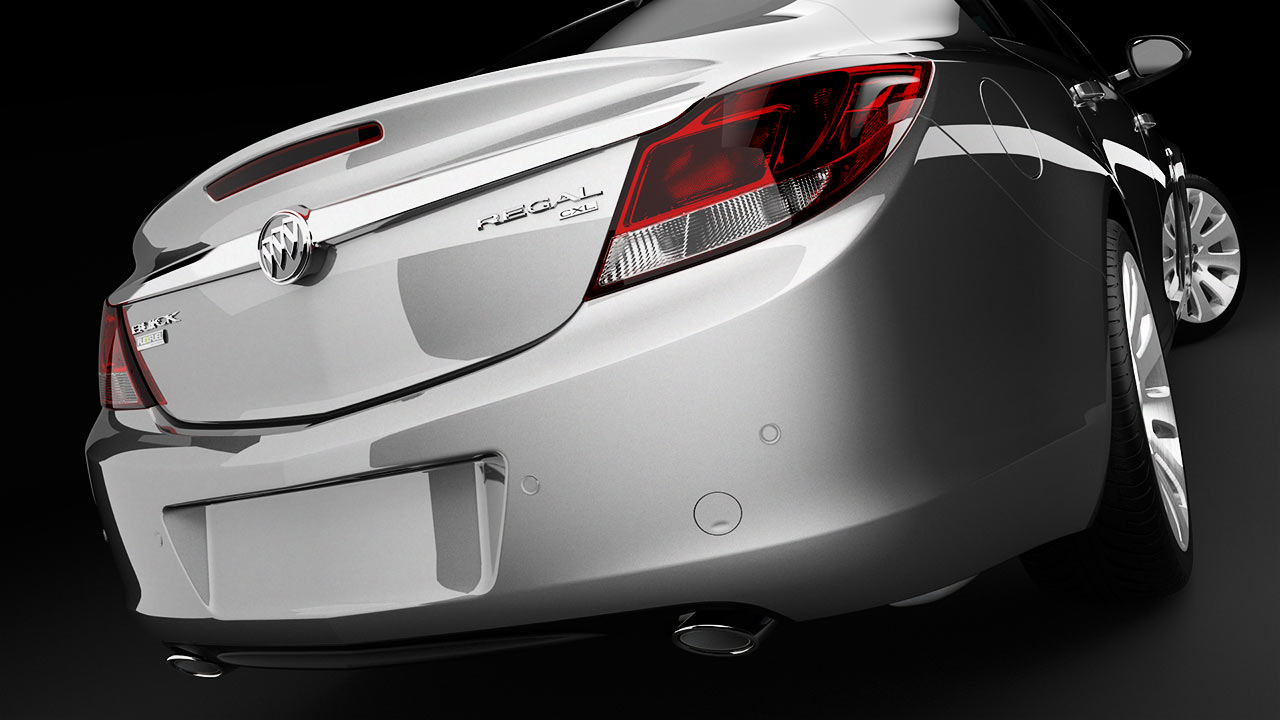 Buick Regal - CG Photography